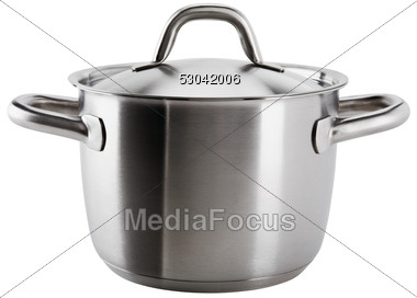 Photo Stainless Steel Pot Clipart   Image 53042006   Stainless Steel