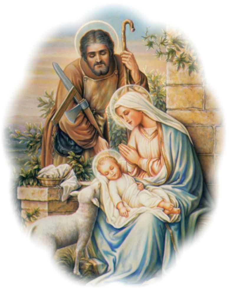 Astounding Holy Family Clipart Clipart Kid Easy Diy Christmas Decorations Tissureus