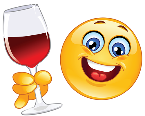 Red Wine Smiley   Facebook Symbols And Chat Emoticons