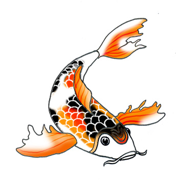 Clip Art Koi Fish Clipart koi fish clipart kid rita nygaard mobil 3062 2462 email hotmail com
