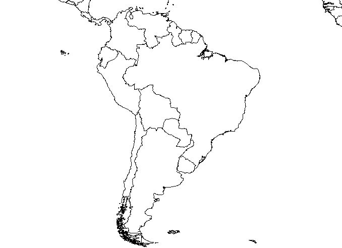 south america map clipart - photo #13