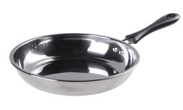 Stainless Steel Cooking Pan Royalty Free Stock Photography