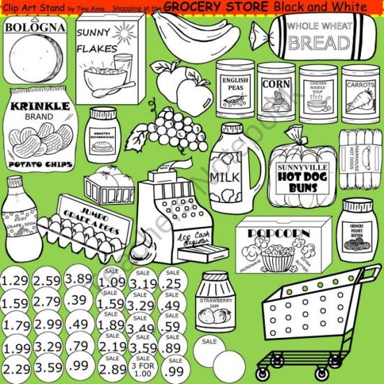 Store Black And White Clipart - Clipart Suggest