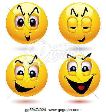 Vector Stock   Smileys  Stock Clip Art Gg59474024   Gograph