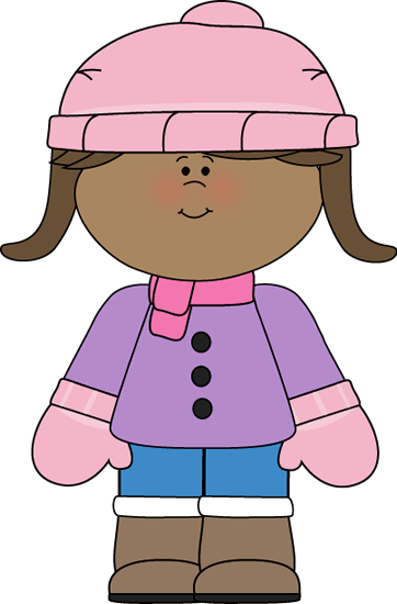 Clothing Coat And Scarf Clipart - Clipart Kid