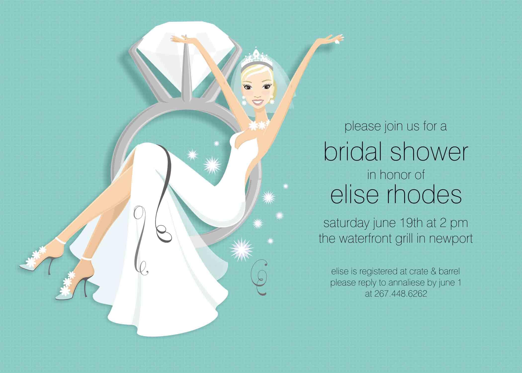 wedding shower invitation clipart  clipart kid, Bridal shower invitations