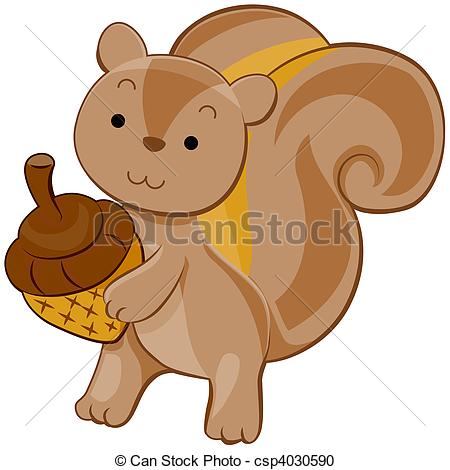 Baby Squirrel Clipart Squirrel Clipart