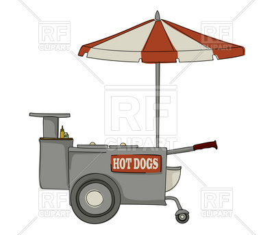Booth Stand For Hot Dogs 18307 Food And Beverages Download Royalty