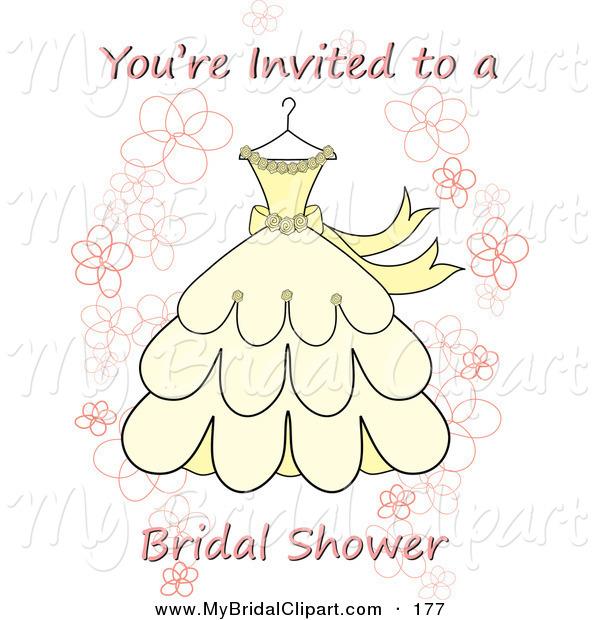 Wedding Shower Invitation Clipart - Clipart Suggest