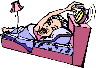 Clip Art Waking Up 580992