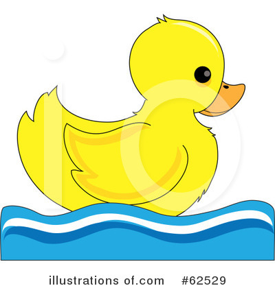 Duck Footprints Clipart