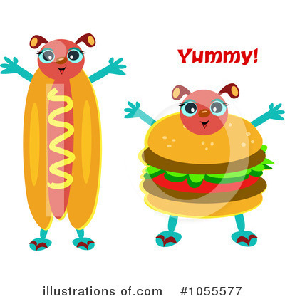 Food Stand Border Clipart