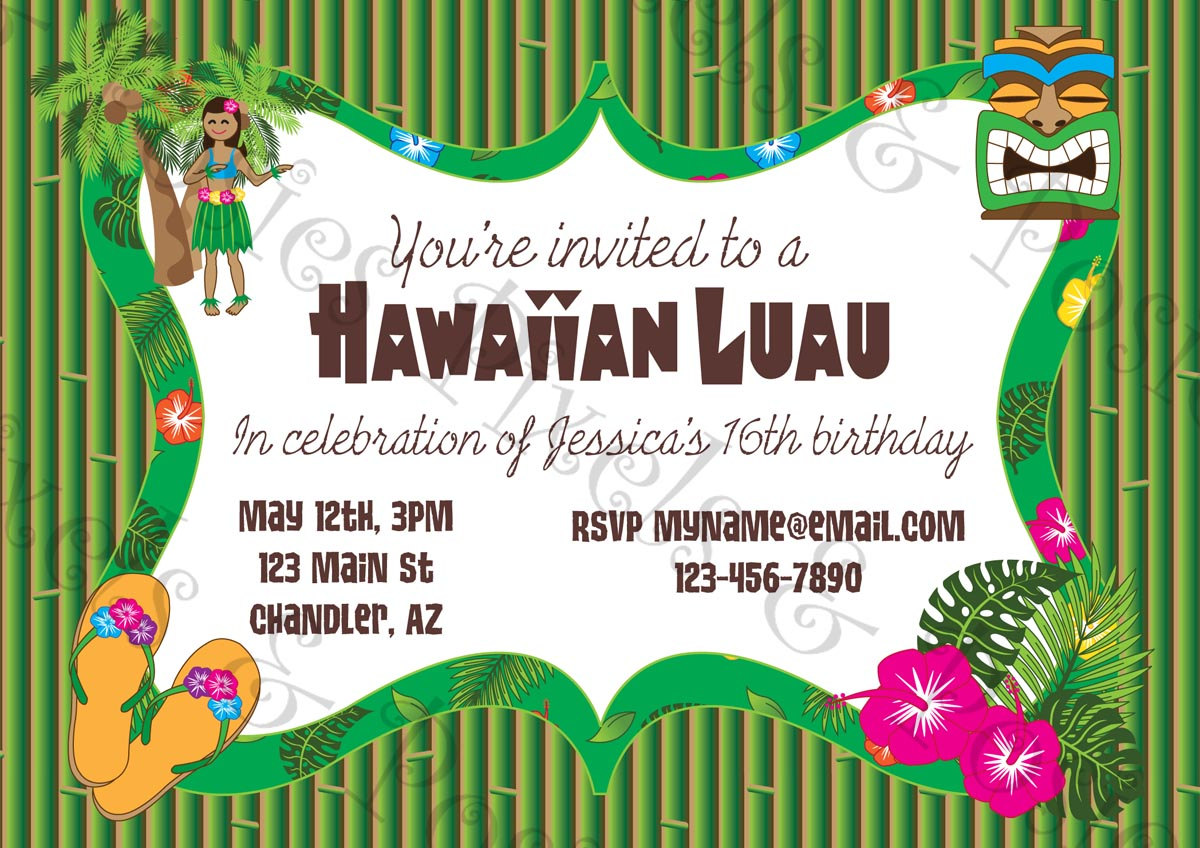 doc printable party invitations top compilation of printable luau invitation clipart clipart kid printable party invitations