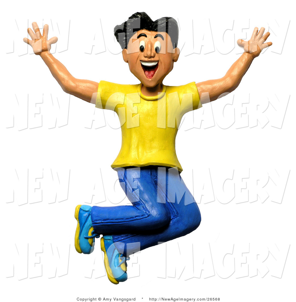 free clipart jump for joy - photo #22