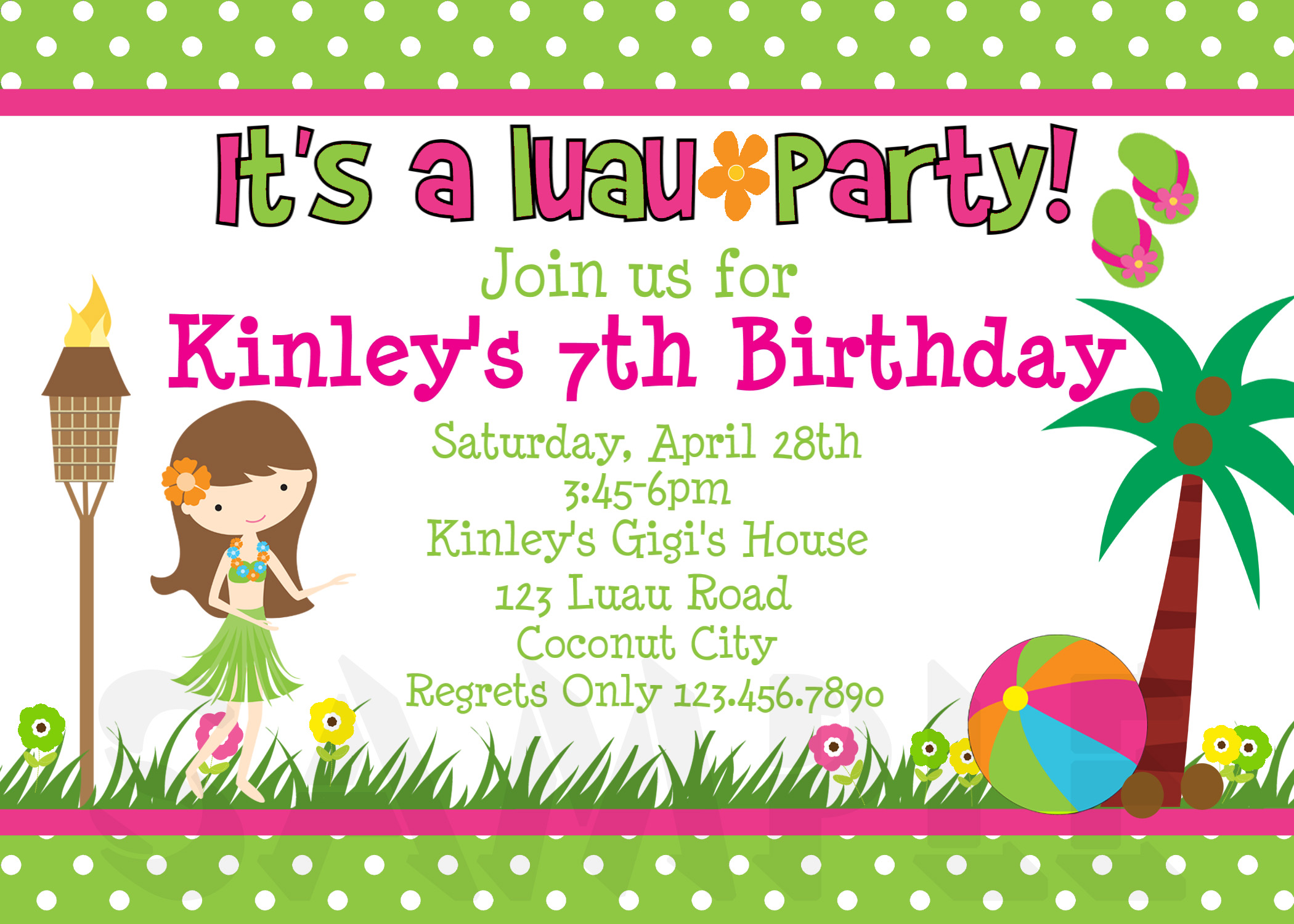 printable luau invitation clipart clipart kid luau birthday party invitations images crazy gallery