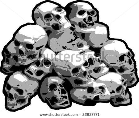 Pile Of Skulls Stock Photos Images   Pictures   Shutterstock