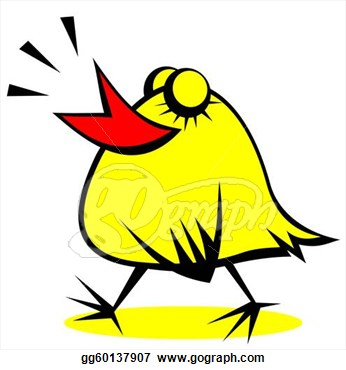 Stock Illustration   Happy Chicken  Clipart Drawing Gg60137907