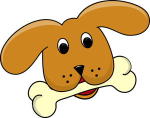 Cartoon Dog Clipart Image   Cute Little Cartoon Puppy Dog With A Dog