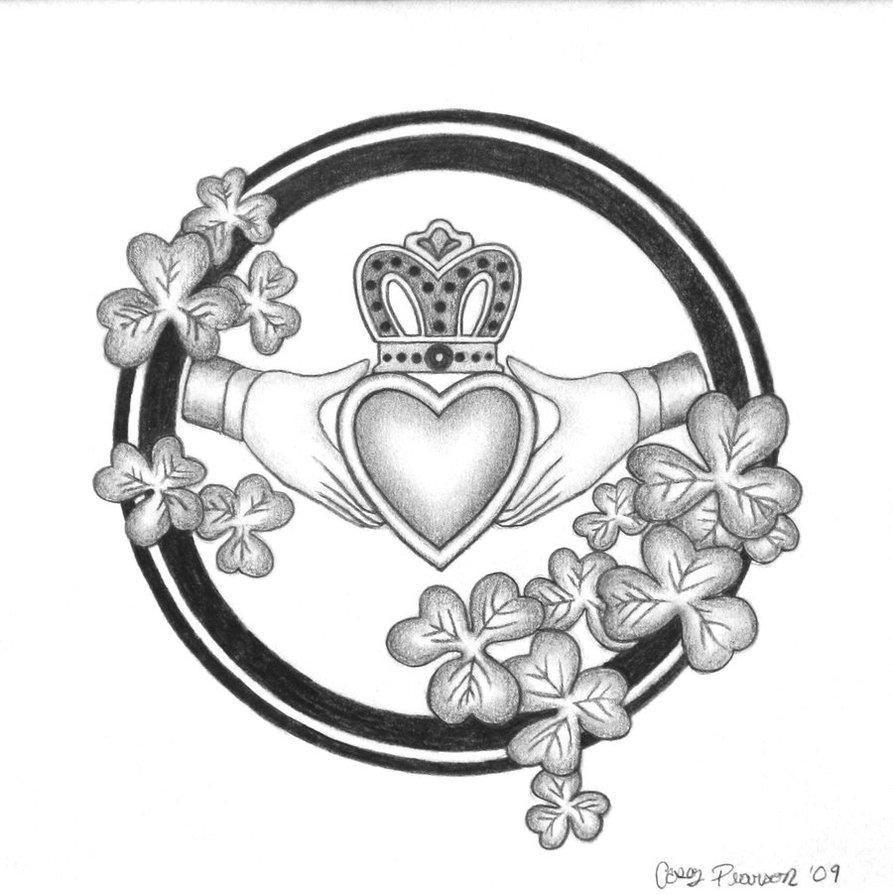Claddagh Clipart Clipart Suggest