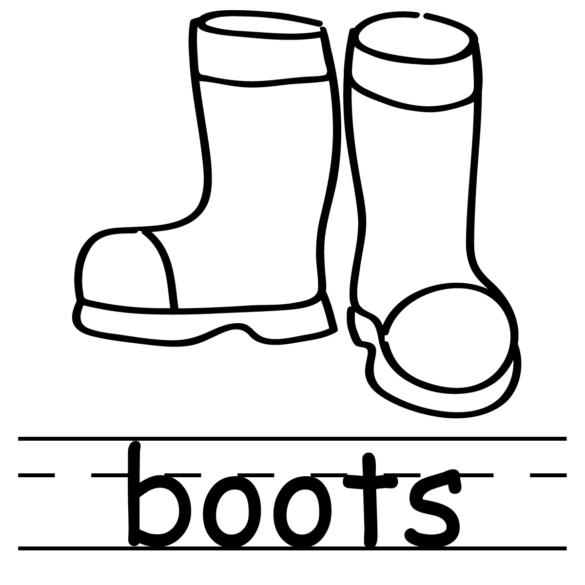 Clip Art Boots Clip Art boots free clipart kid cowboy black and white panda clipart