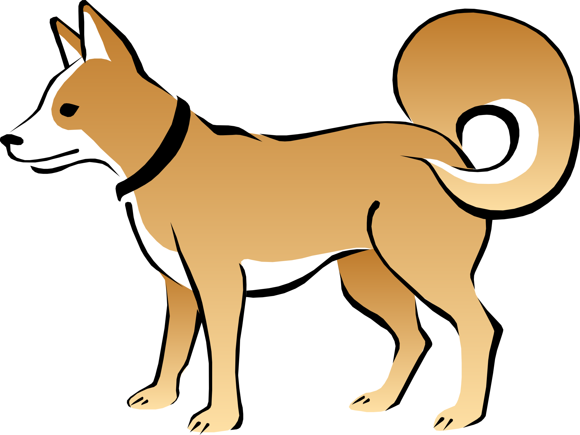 Little Dog Clipart 10 Dog Clipart Images