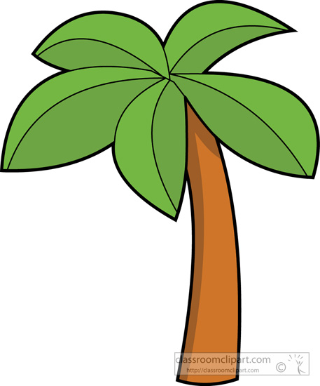 palm tree clip art - photo #32