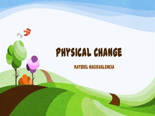 Physical Change Clipart - Clipart Kid
