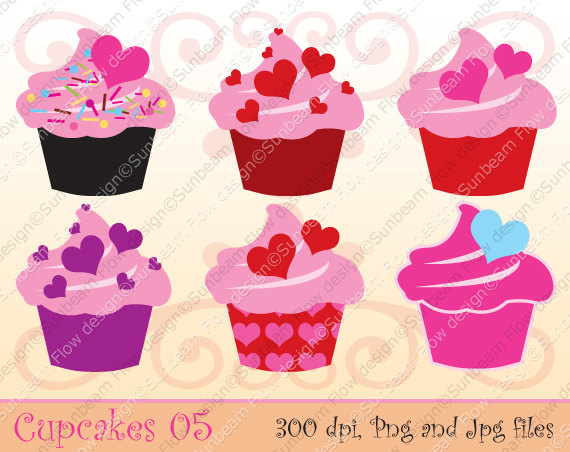Valentine Cake Clip Art : Animated Sweet 16 Cupcakes Clipart - Clipart Suggest