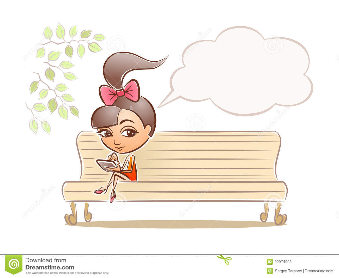 Cartoon Park Bench Clipart - Clipart Kid