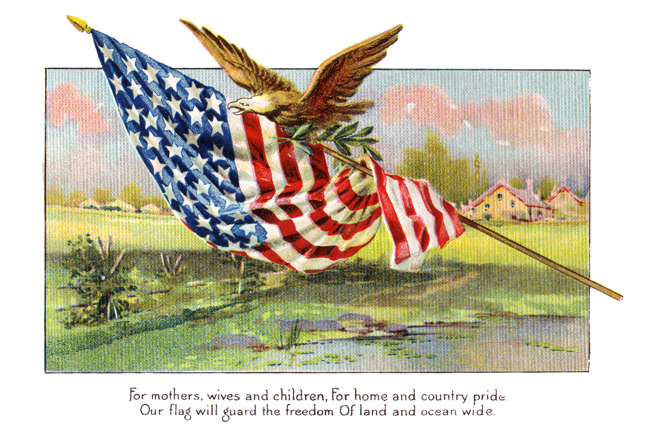 American Flag Clipart    Image 3