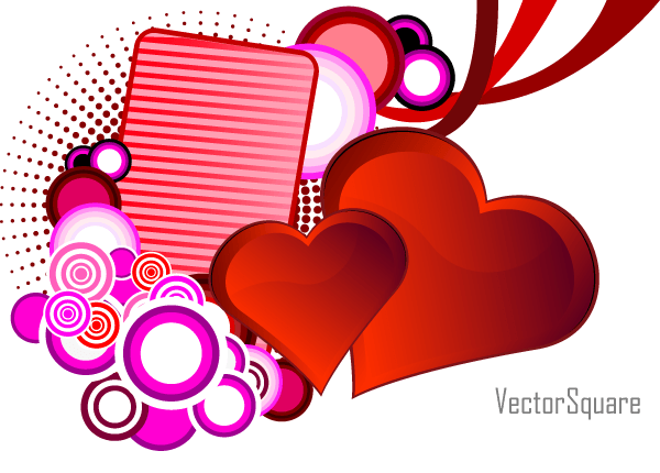 Heart Vector For St  Valentine S Day   123freevectors