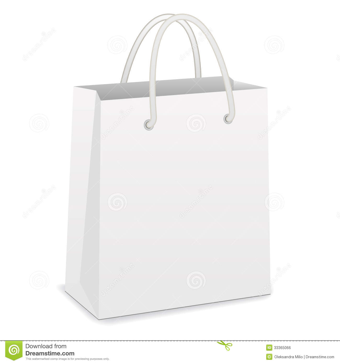 Pink shopping bags clipart