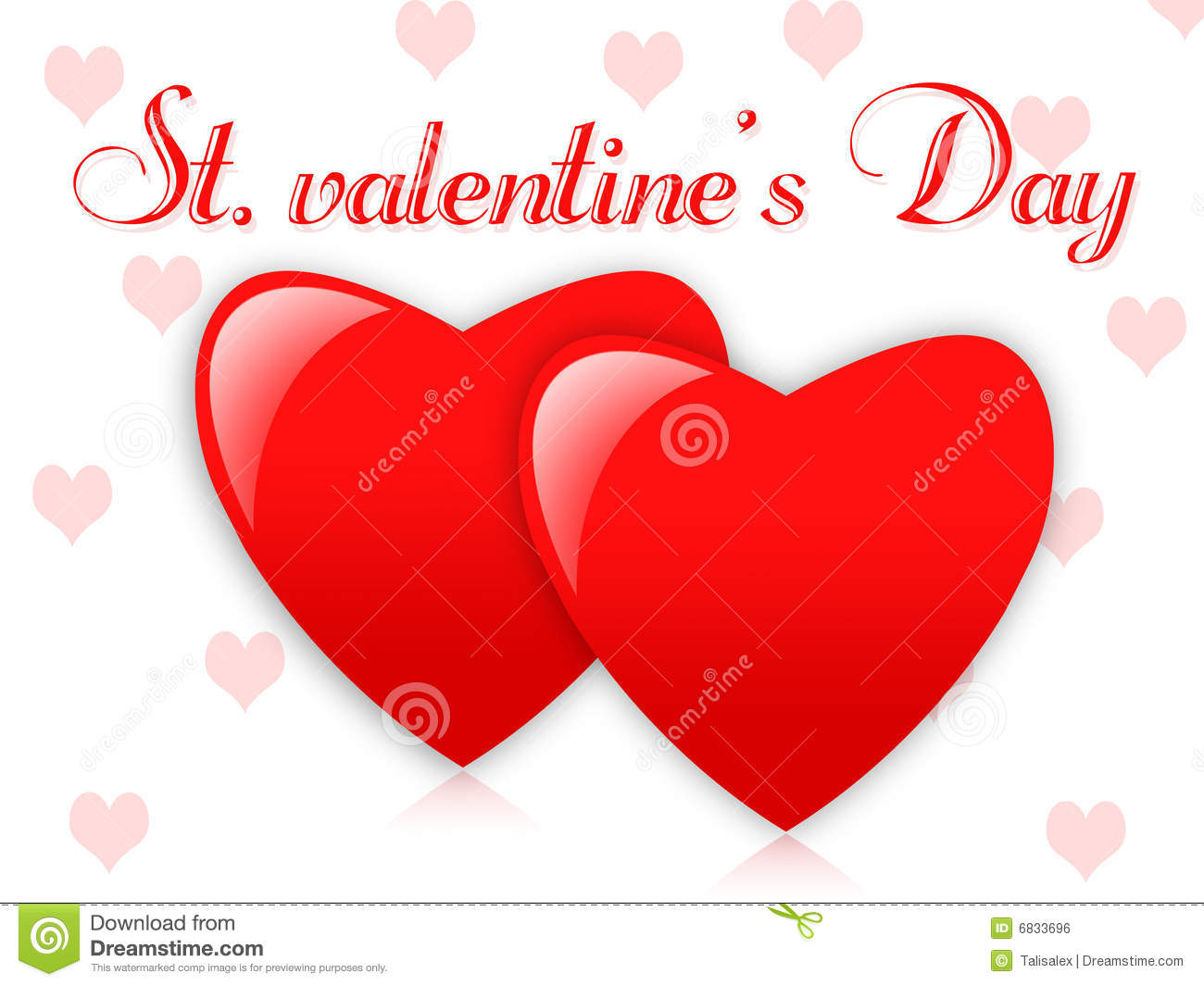 St  Valentines Day Royalty Free Stock Image   Image  6833696