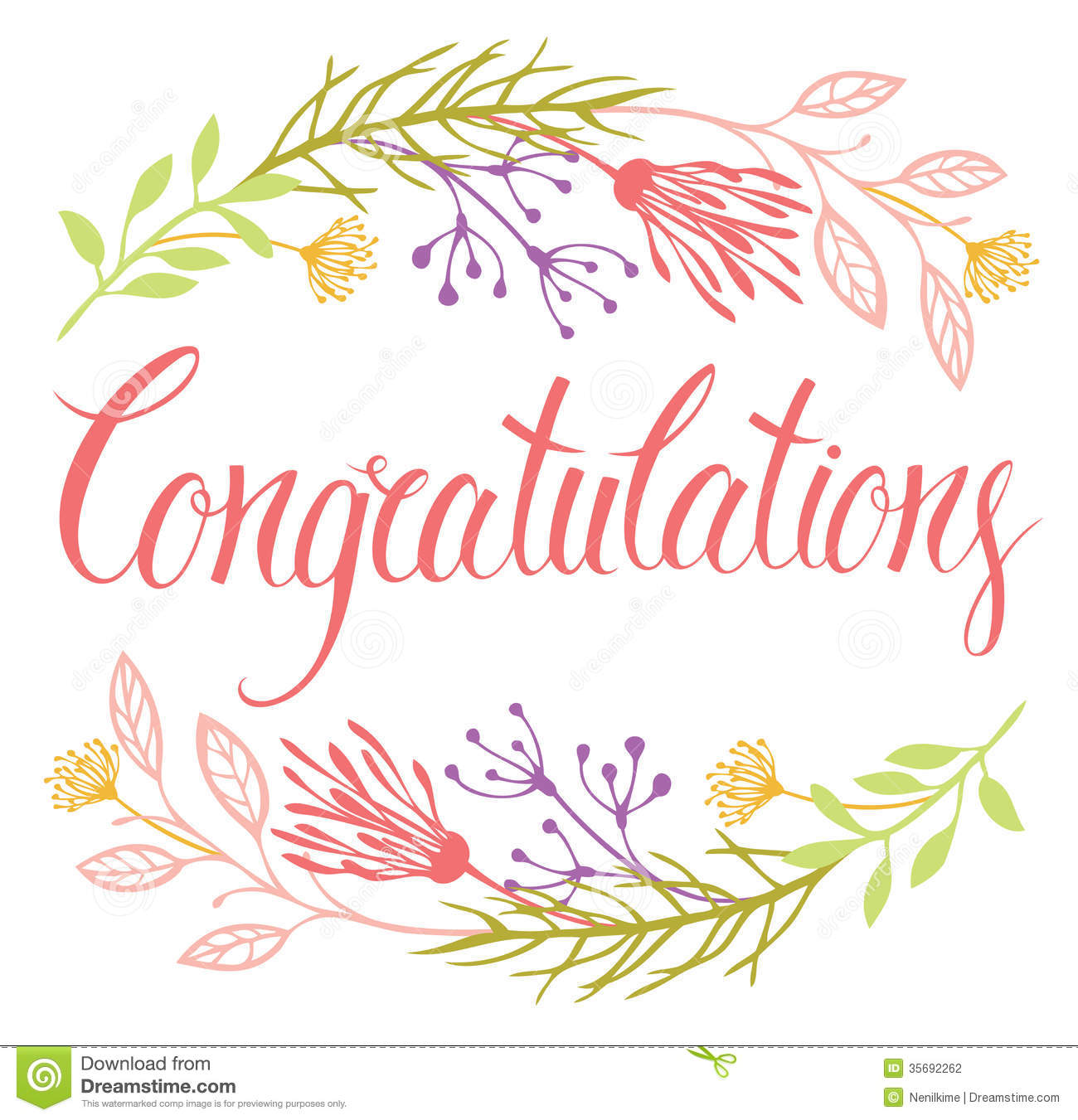 Congratulations Greeting Card Clipart - Clipart Kid