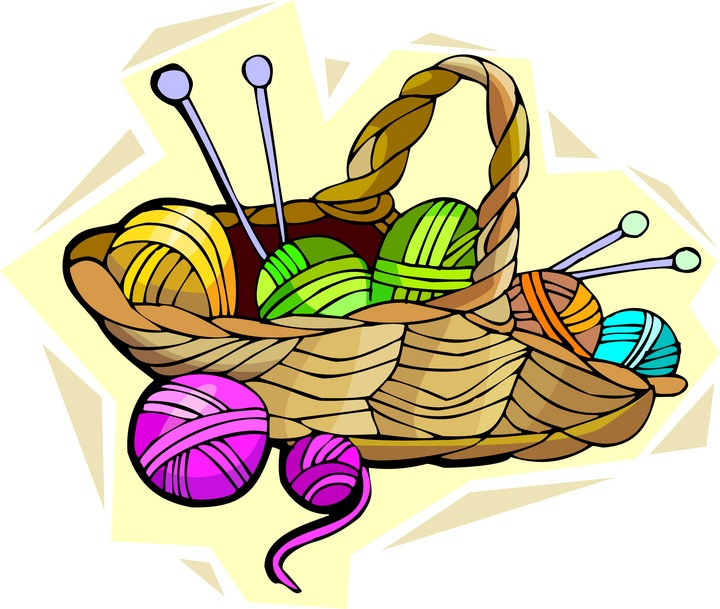 Vintage Knitting Clipart : Knit and crochet clipart suggest