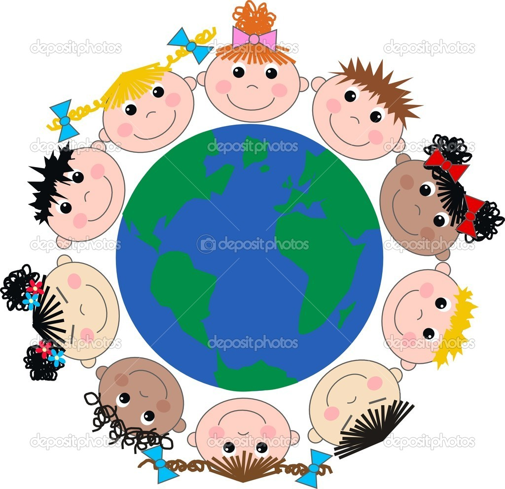 Ethnic Diversity Kids And Banner Pics Stock Photos All Sites