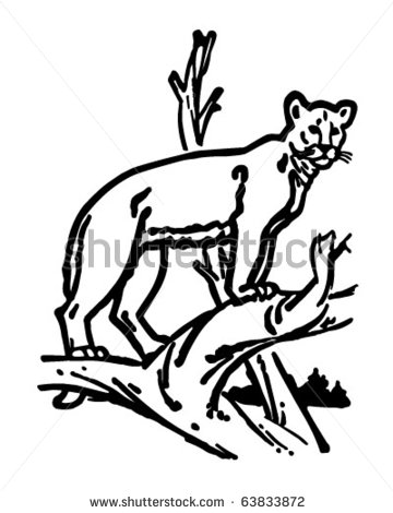 Lioness Clipart Black And White   Clipart Panda   Free Clipart Images