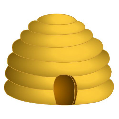 Clip Art Bee Hive Clip Art beehive clipart kid picture of a best