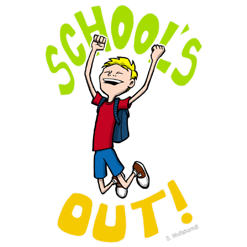 Schools Out Clipart - Clipart Kid