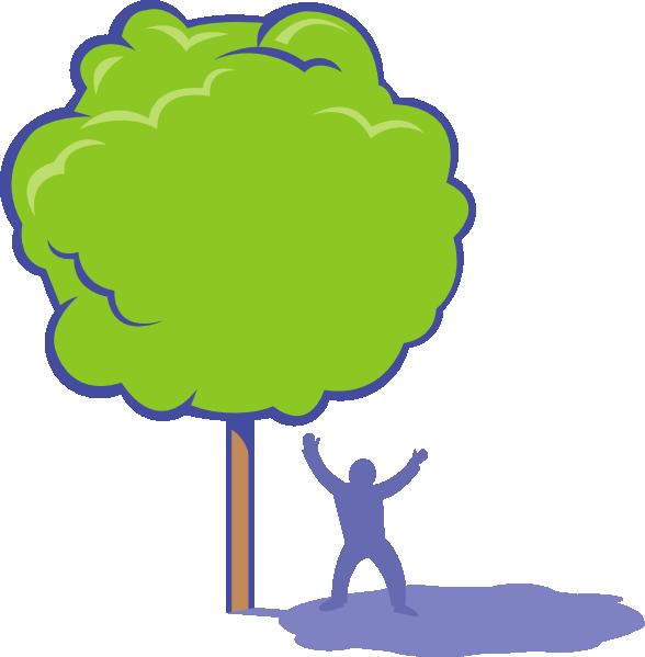 Shady Tree Clip Art At Clker Com   Vector Clip Art Online Royalty