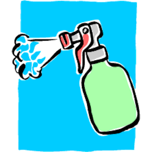Spray Bottle Clipart Cliparts Of Spray Bottle Free Download  Wmf Eps