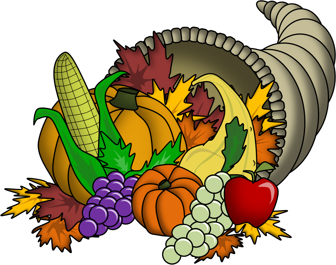 Thanksgiving Cornucopia Clipart Png Thanksgiving Clipart