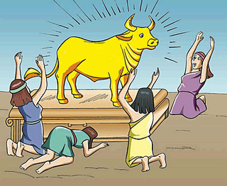 The Bull On Wall Street Is Actually The Hebrew Golden Calf Page 1