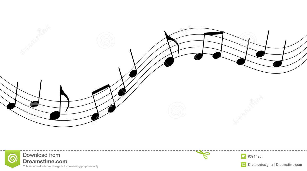Black And White Music Background Clipart - Clipart Suggest