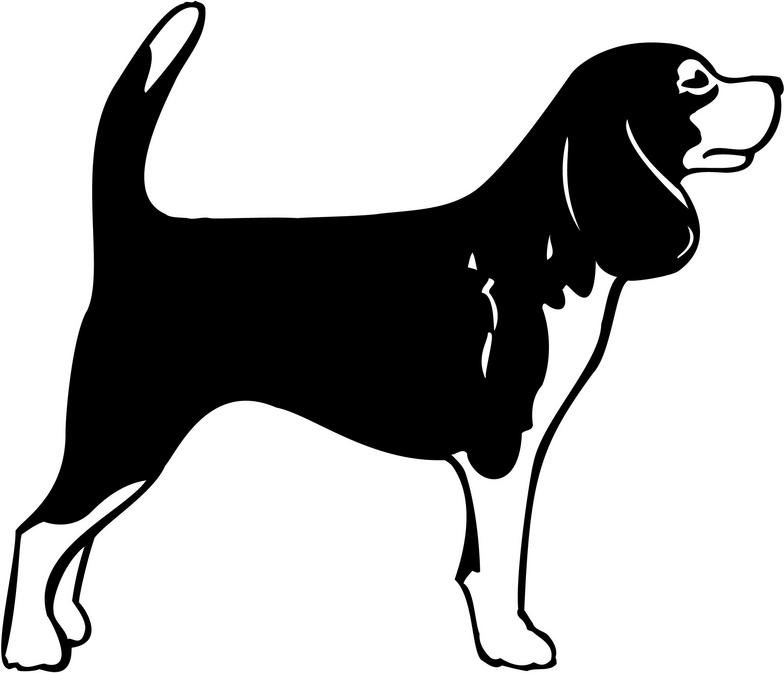 Dog House Vector Decals