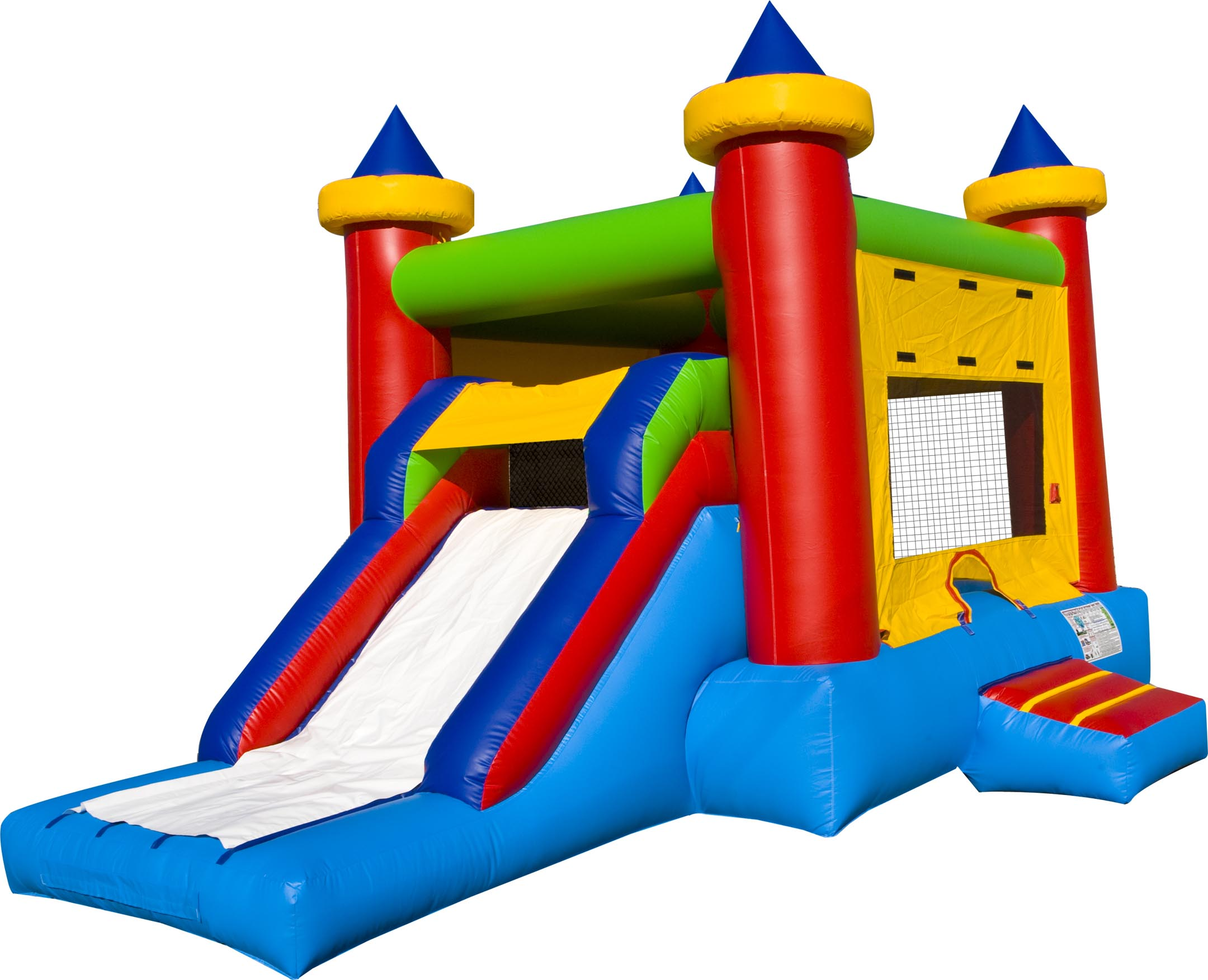 Carnival Bounce House Clipart - Clipart Kid
