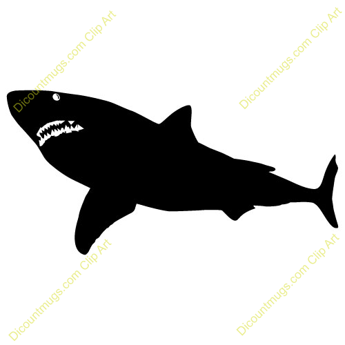 Clipart 11472 Jaws   Jaws Mugs T Shirts Picture Mouse Pads   More