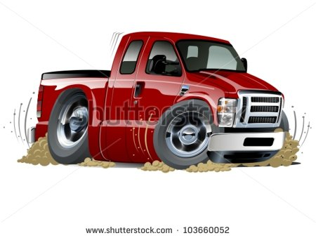 Red Pickup Truck Stock Photos Images   Pictures   Shutterstock