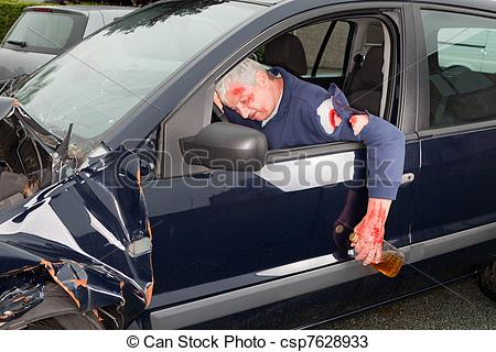 Stock Photos Of Drunk Driving   Drunken Driver Hanging Out Of His