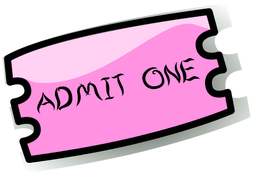 Tickets Admit One Clipart And Read Our Clip Art Wpclipartcom